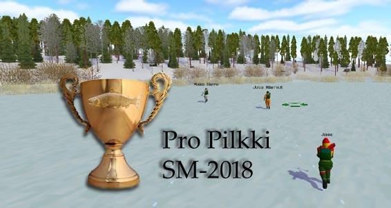 Pro Pilkki 2018 SM-kisat